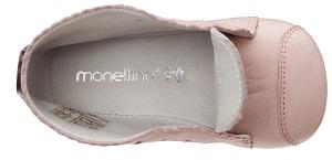 monellina モネリーナの靴のインナーは山羊の革で吸湿性放湿性が良い