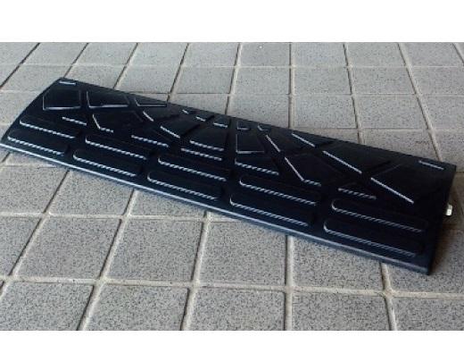 車庫用 段差ステップ ゴム製スロープ60cmセット 駐車場の段差ステップ