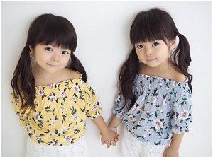天使みたいにかわいい話題の4歳双子ガール インスタグラム めざましテレビ