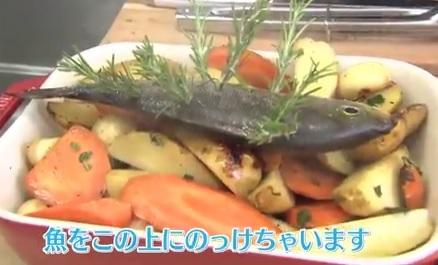 両親心配する料理(もこみち)モコズキッチン 神回 ローズマリーぶっさし魚料理