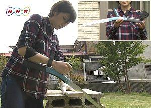 らくな力で切れるノコギリ サボテン まちかど情報室 NHK おはよう日本