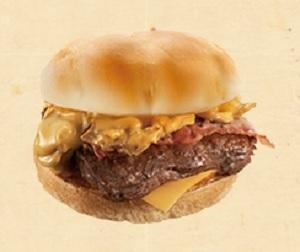 ハンバーガー ファーストキッチン・ウェンディーズ マッシュルームベーコネーター 期間限定商品