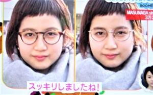 丸メガネ(選び方)のフレーム太さ 顔の印象が変わる 眼鏡スタイリスト(プロ)がオススメ!ZIP