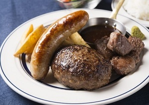 肉カフェ NICK STOCK(ニックストック)スペシャルハンバーグ ZIP