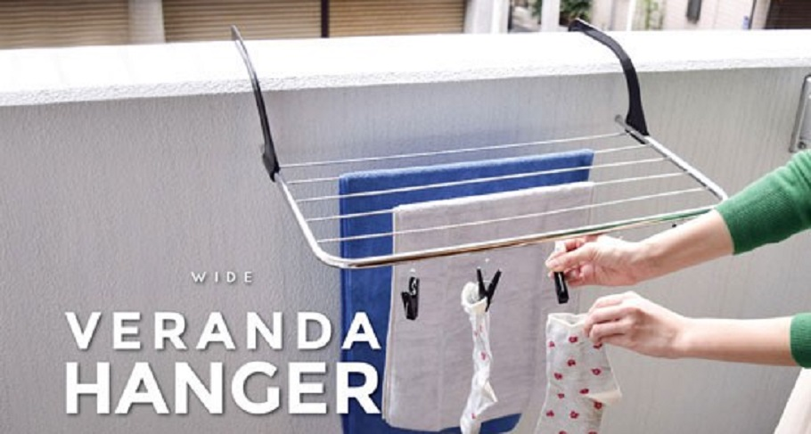 ベランダに引っ掛けるベランダハンガー まちかど情報室(おはよう日本)NHK