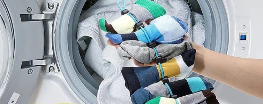 靴下らんどりー 靴下を揃えたまま洗濯・乾燥・収納までできる便利グッズ まちかど情報室